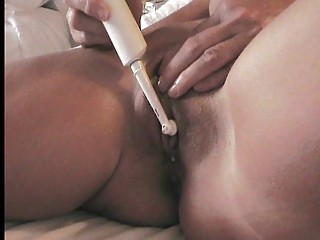 my woman have pleasure with a toothbrush