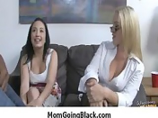 watching my woman going ebony amazing mixed porn