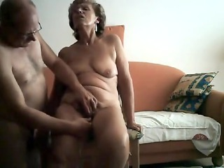 sexually excited granny obtains her bawdy cleft