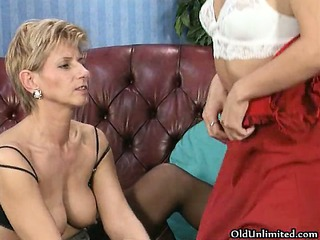 dirty and older homosexual women go mad