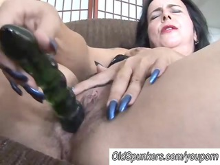 mature fresh has a large orgasm