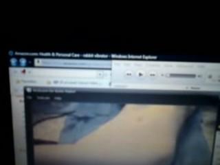 maiden plays on webcam