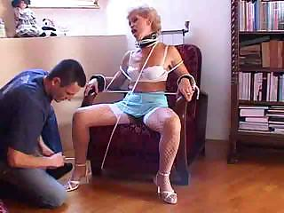 experienced busty granny obtains some mighty