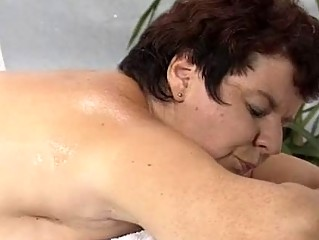 lady drilled by masseur