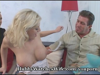 jack watches his huge titty housewife