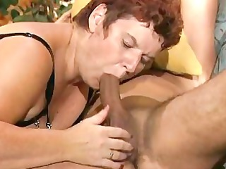 heavy cougar german babe enjoys a hard cock dbm