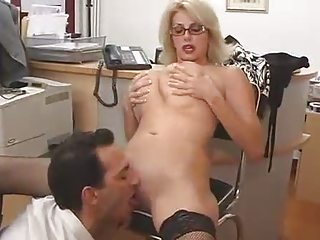 giant boobed mom with her boss...f70