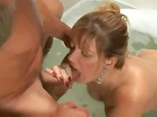 brunette lady rose poltergeist trades head and