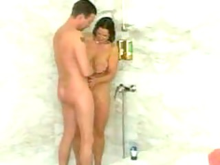 maturre fuked inside shower