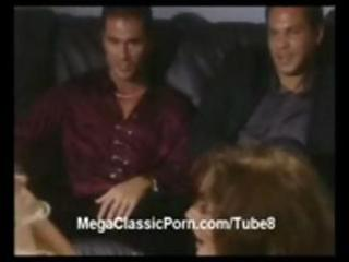 ashlyn gere inside classic group sex with a horny