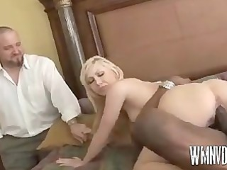 blonde chick obtains various kind of cock