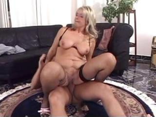 grownup pale with big tits goes deep and next