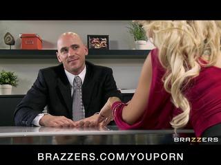 cheating big breast blonde slut bangs salesmans
