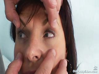 older livie pussy examination by slutty desperate