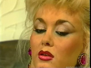 dolly buster - german lady fucked by two men