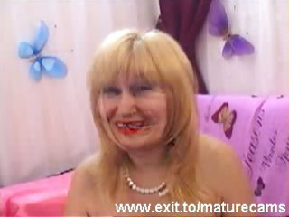 horny 50 years old fingering on webcam