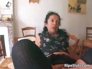 horny mature slut twofold fucked as single part6