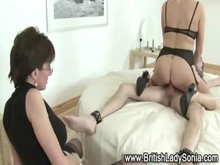 hot pantyhose grown-up slut fucks guy