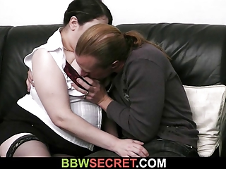 maiden finds bbw with her hubby
