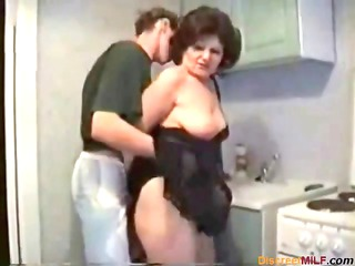 russian lady acquires fucked inside the dining