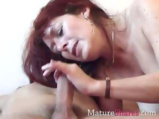 delightful soft elderly boobies