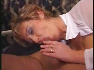 older fucked into clean nylons copulates