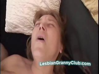 naughty mature homosexual woman uses huge machine
