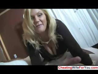 awesome mature angel gives extremely impressive