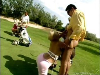 woman bottom orgy at golf club