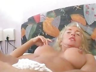 cougar german bleached wants to make a sex sascha