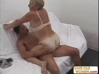 big butt german old action