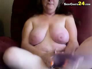 grandma found my light red plastic cock tryout