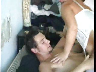 mature bbw takes her slits pleased