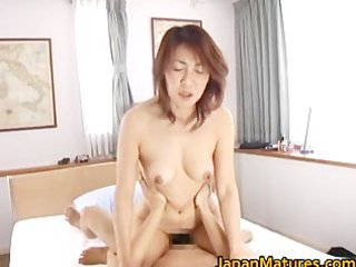 busty japanese grown-up bitches licking part5