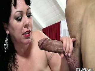 drilled and jizzed on plumper kate