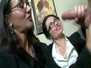 mature babes awating for white cream