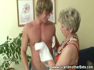 elderly seducing fresher libido
