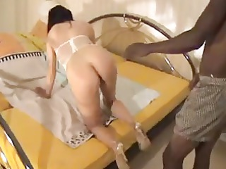 housewife getting a sperm from a bbc