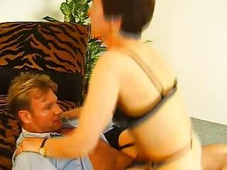 bushy elderly inside pantyhose toys and bangs