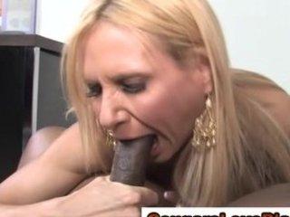 mature mixed whore takes a white cream
