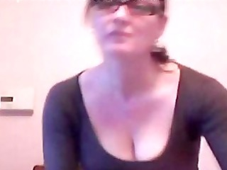 vagina fisting older babe with glasses
