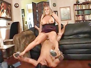 large titted lady is glad her friend came house