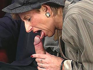 doggy porn with elderly mom