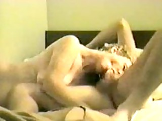 grown-up wife licks the life outa him