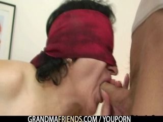 granny enjoys piercing two libidos