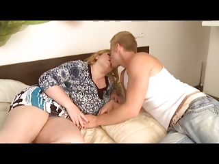 mature bbw bangs young male