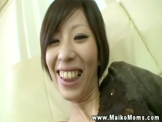 bashful extremely impressive oriental woman