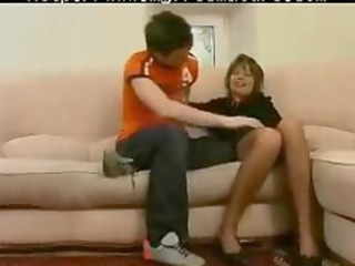 russian elderly mom stepson elderly cougar bang