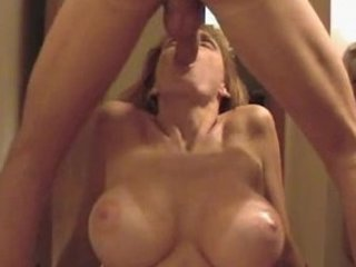 awesome pale giant tit lady gives sweet cock