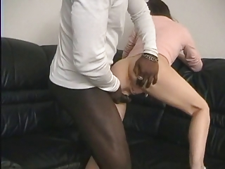 inexperienced wife drilled by bbc !